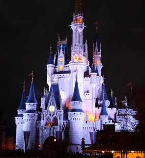 Night Disney Castle, Bye