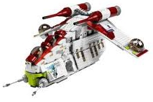 Lego Star Wars Republic Attack Gunship 7676